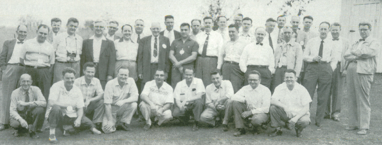 1955 TCA National Convention Attendees