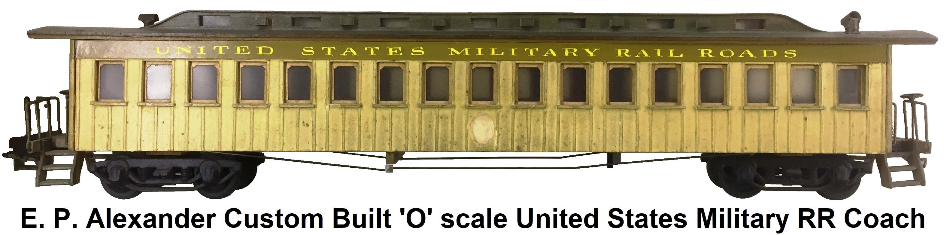 O GAUGE LMS COACH LARGE SHELL ROOF VENTS