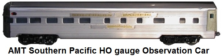 AMT American Model Toys Southern Pacific HO gauge observation car