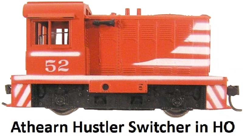 Athearn Hustler Switcher in HO
