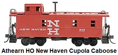 Athearn HO gauge New Haven Steel Cupola Caboose RTR