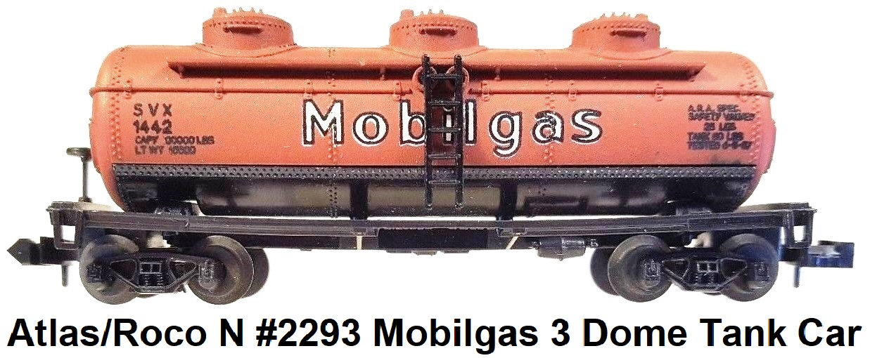 Atlas 31152 WC 53' Evans Double Plug Door box car #1048 in N scale