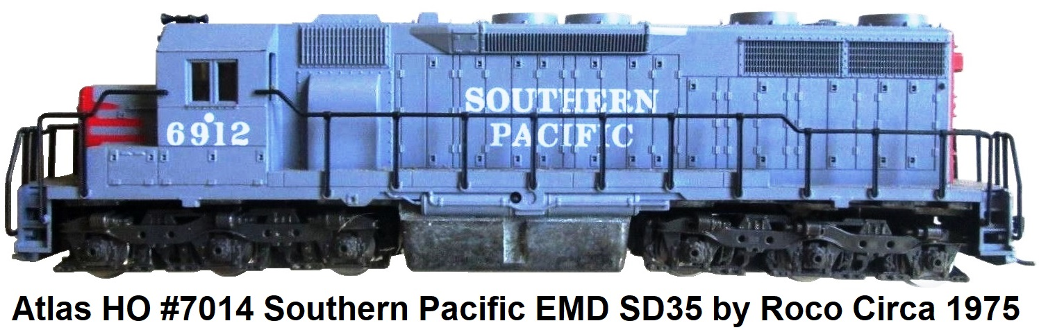 Atlas HO #7014 Southern Pacific EMD SD35 by Roco circa 1975
