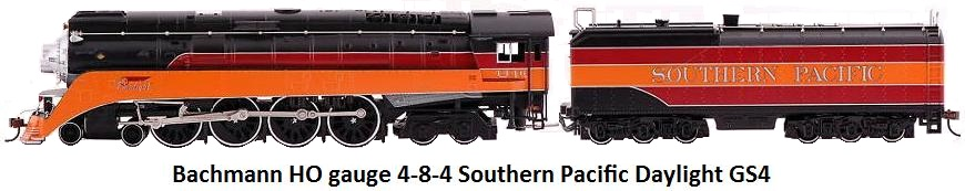 Bachmann HO gauge DCC equipped 4-8-4 Southern Pacific Railfan GS4 Daylight 50202 Steam loco & tender