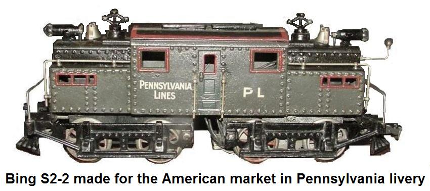 Bing S2-2 made for the American market in Pennsylvania livery