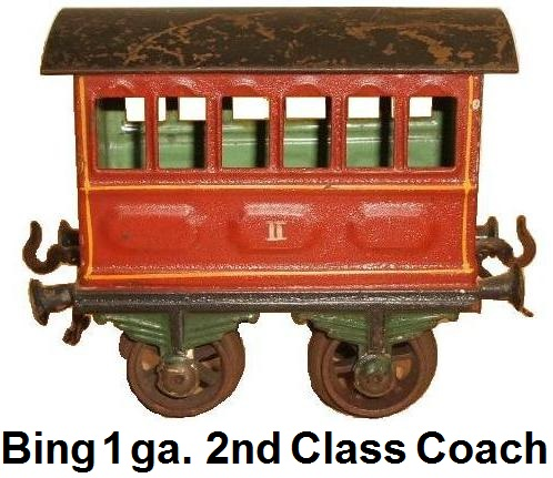 Bing Passenger car gauge 1