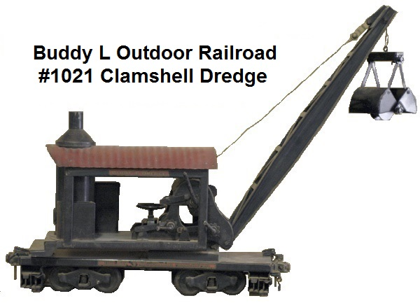Buddy L #1005 3¼ inch Outdoor Railroad gondola