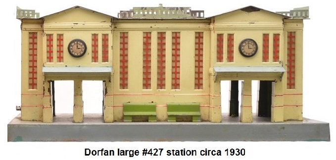 Dorfan Large #427 Station circa 1930