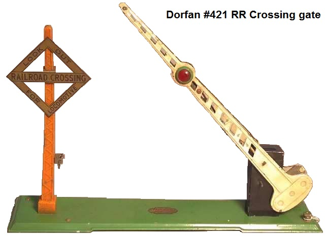 Dorfan #421 Crossing gate