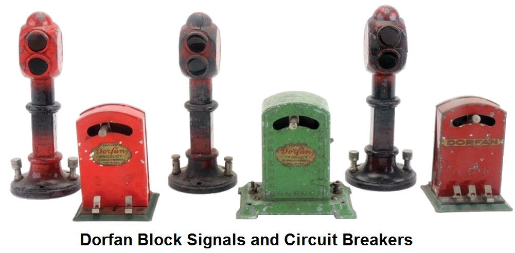 Dorfan Block Signals & Automatic Circuit Breakers