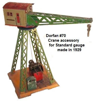 Dorfan #70 electric crane sold for $19.50