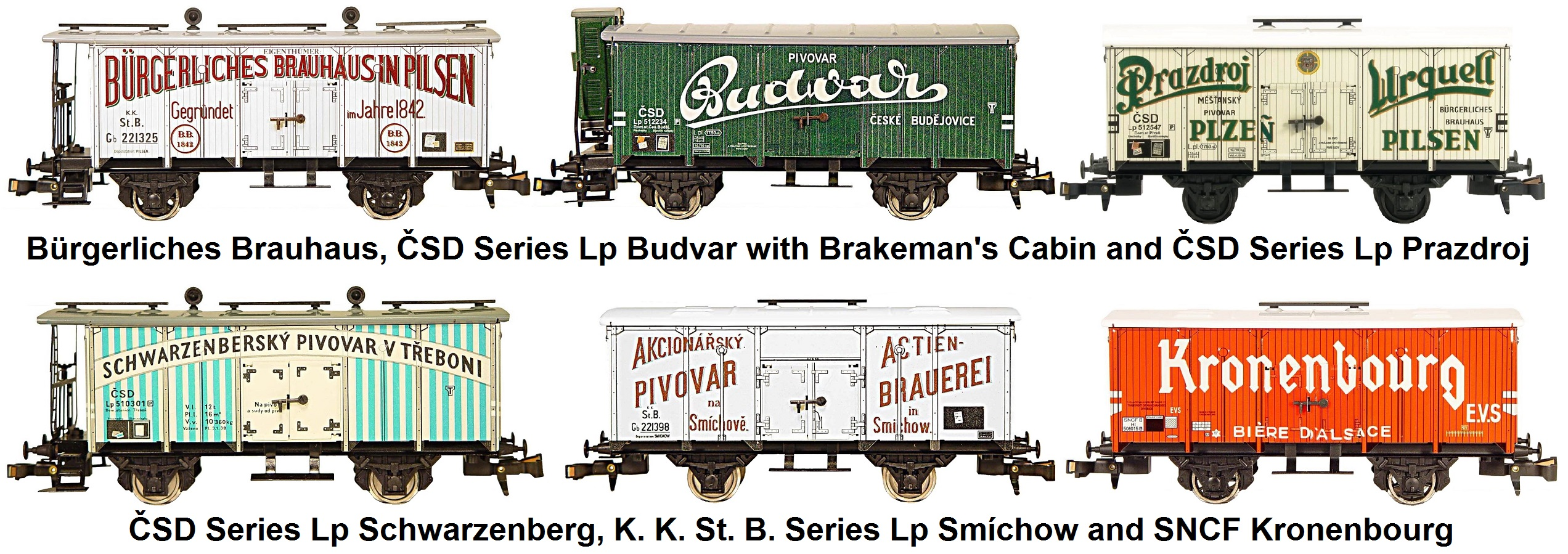 ETS 'O' gauge Beer Cars