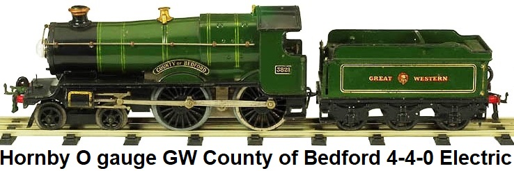 Hornby County of Bedford electric in 'O' gauge