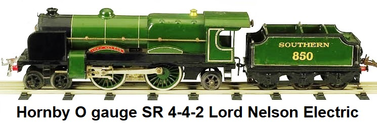 Hornby 4-4-2 Lord Nelson electric in 'O' gauge