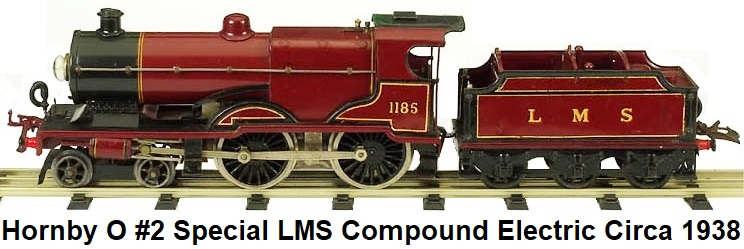 Hornby Compound electric in 'O' gauge