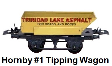 Hornby O gauge #1 Rotary Tipping Wagon