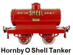 Hornby O gauge Early 1924 Shell Tank Wagon