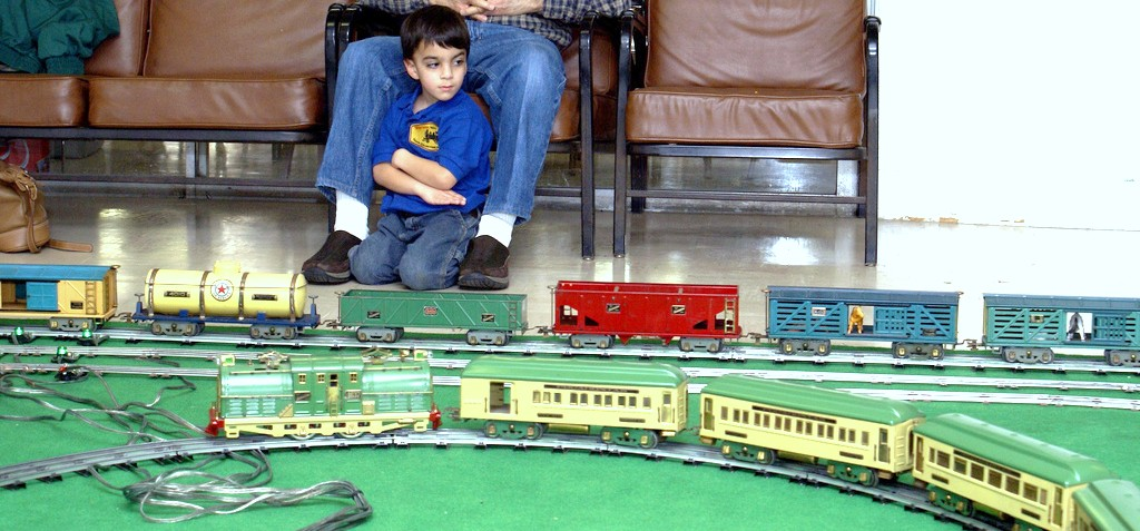 Some trains running at the last TCA meet