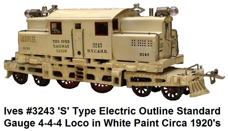 Ives #3243 electric in Wide gauge