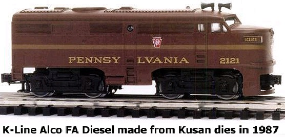 K-Line Alco FA Diesel made from Kusan dies in 1987