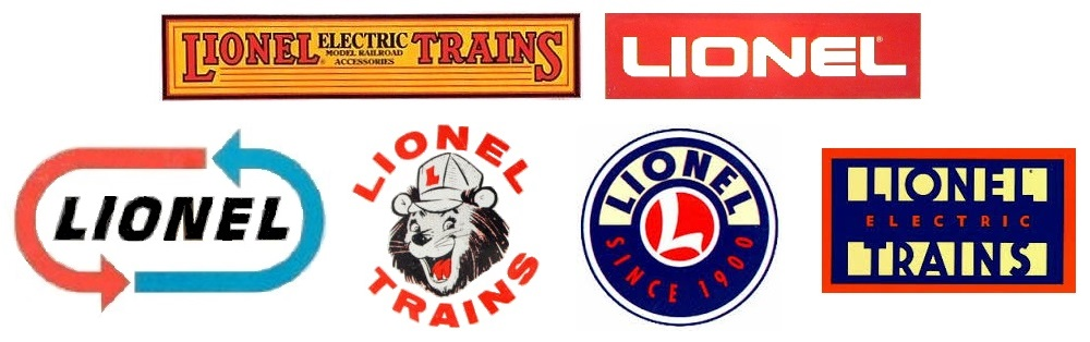 Lionel logos through the years
