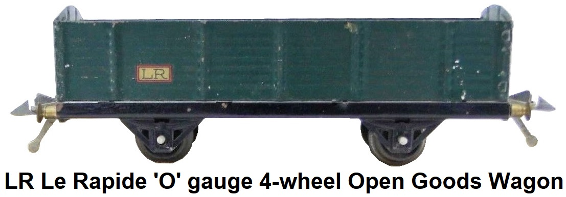 LR Le Rapide 'O' gauge Open goods wagon