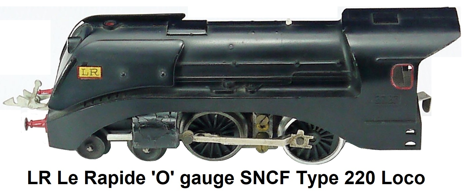 LR Le Rapide 'O' gauge SNCF Type 220 Steam Outline Locomotive