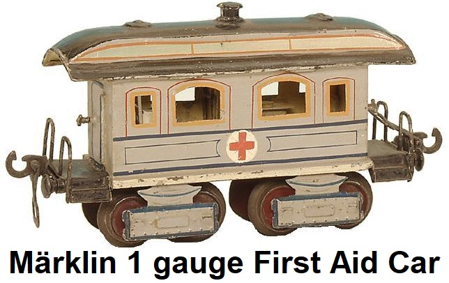 Märklin gauge 1 First Aid car