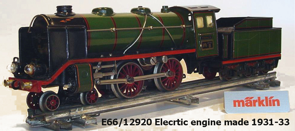 M�rklin E66/12920 electric engine made 1931-1933