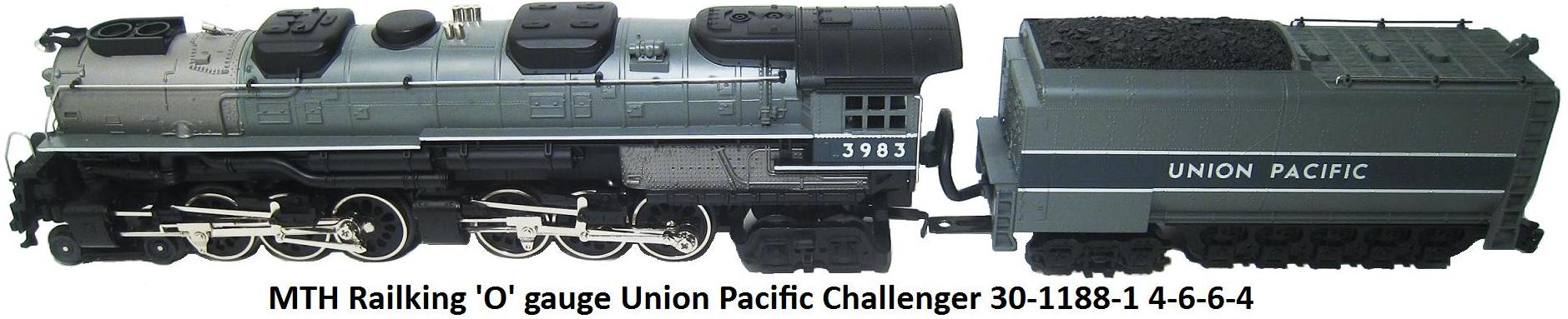MTH Railking Union Pacific Challenger 30-1188-1 4-6-6-4 locomotive in 'O' gauge