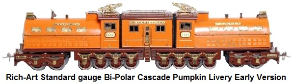 Standard//Wide Gauge Dorfan  4-4-4 Electric Loco Reproduction Truck Assembly