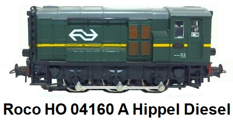 Roco HO 04160 A Hippel Diesel locomotive for Analog AC