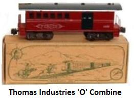 Thomas Industries Pioneer Set 'O' gauge Combine