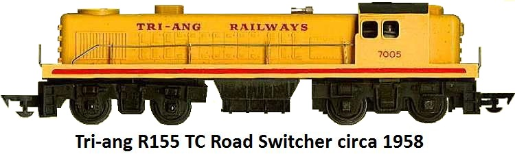 Tri-ang R155 TC Road Switcher circa 1958
