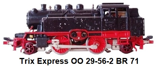 Trix Express OO 29-56-2 BR 71 made for the American Market