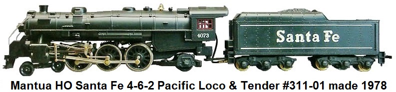 Tyco/Mantua Trains on