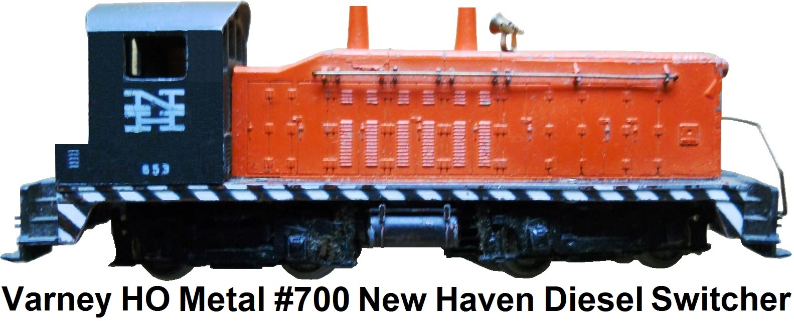 Varney HO scale #653 New Haven Yard Switcher Engine
