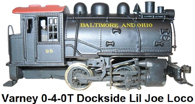 Varney 0-4-0T Dockside Lil Joe tank loco in HO gauge