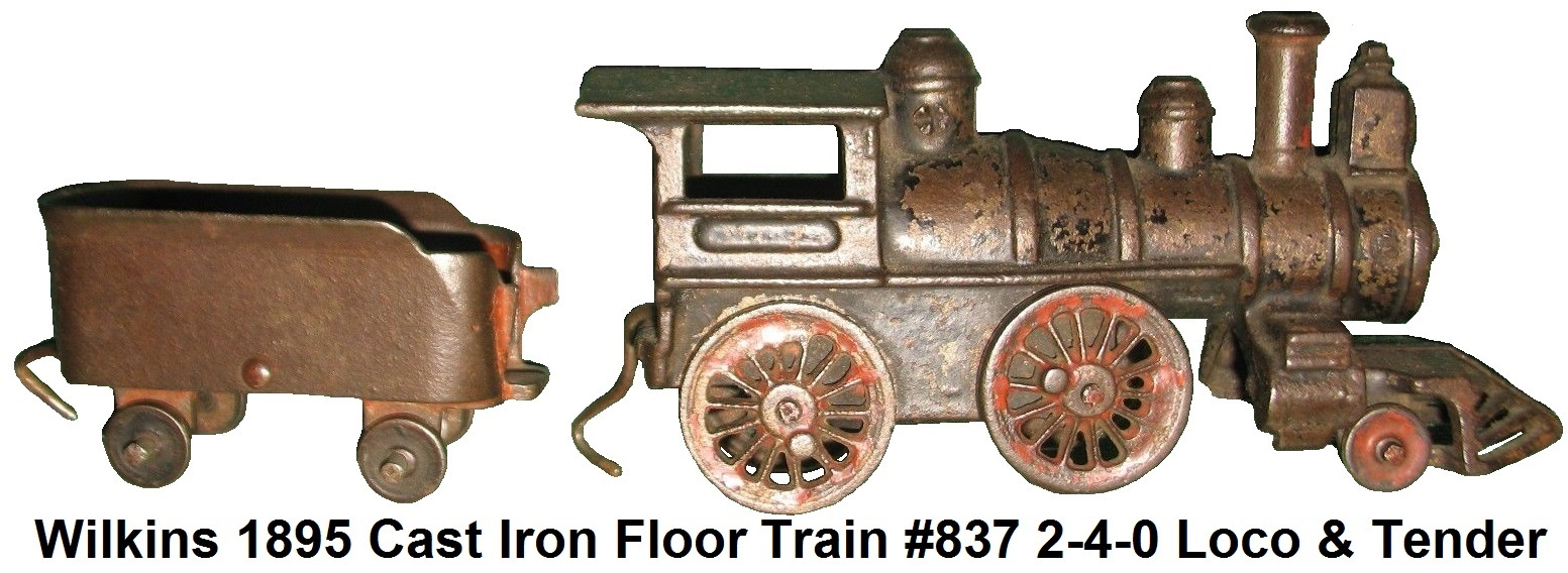 Nycrr Cast Iron Train: Wilkins Trains